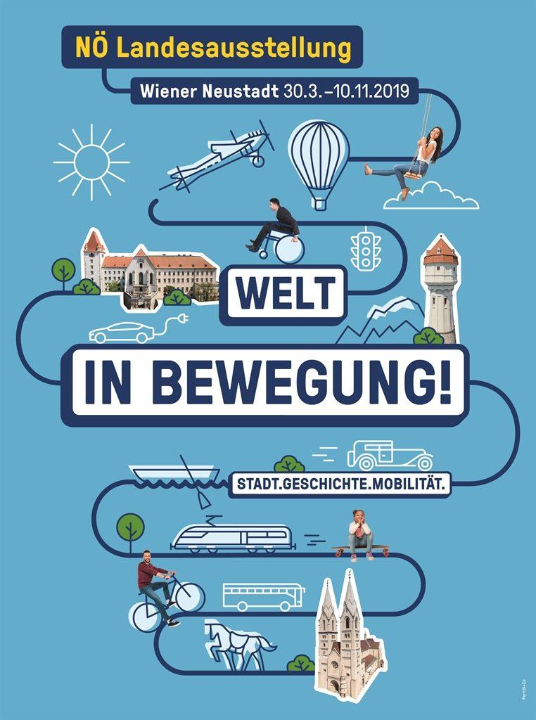 Niederösterreichische Landesausstellung 2019_Welt in Bewegung