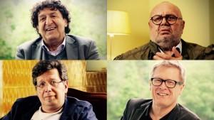 Robert Schindel, Franz Schuh, Franzobel, Paulus Hochgatterer